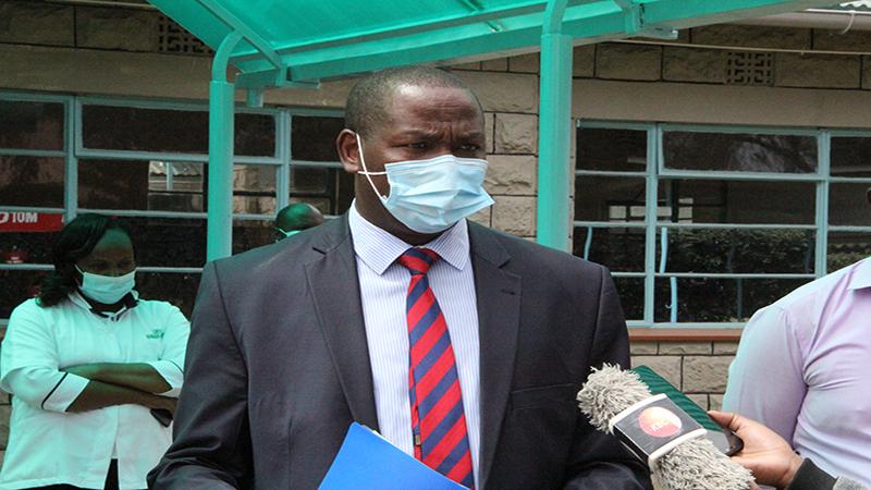 GOVERNOR NDIRITU MURIITHI ON THE SPOT